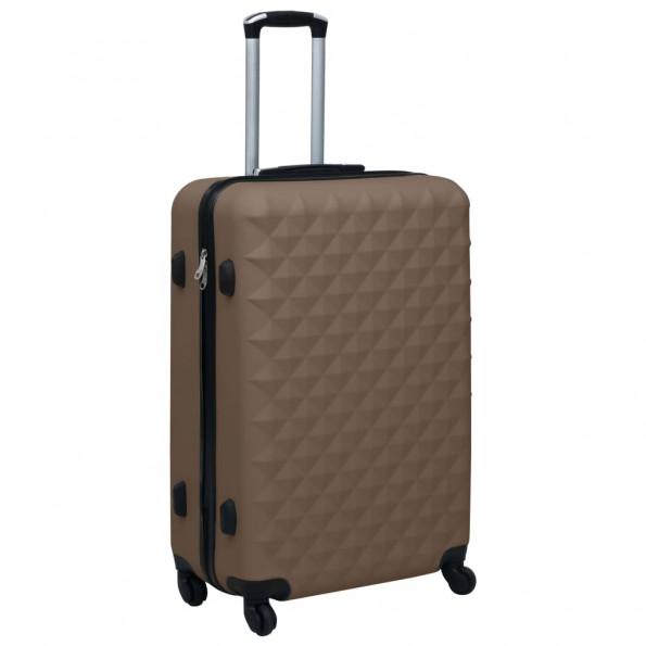 Hardcase-kuffert ABS brun