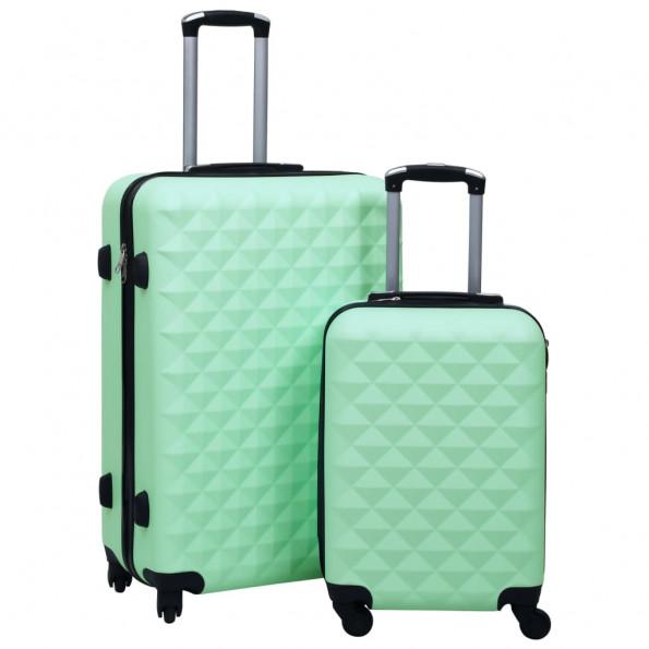 Kuffertsæt 2 stk. hardcase ABS mintgrøn