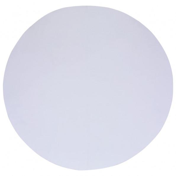 Poolunderlag 305 cm geotekstil hvid