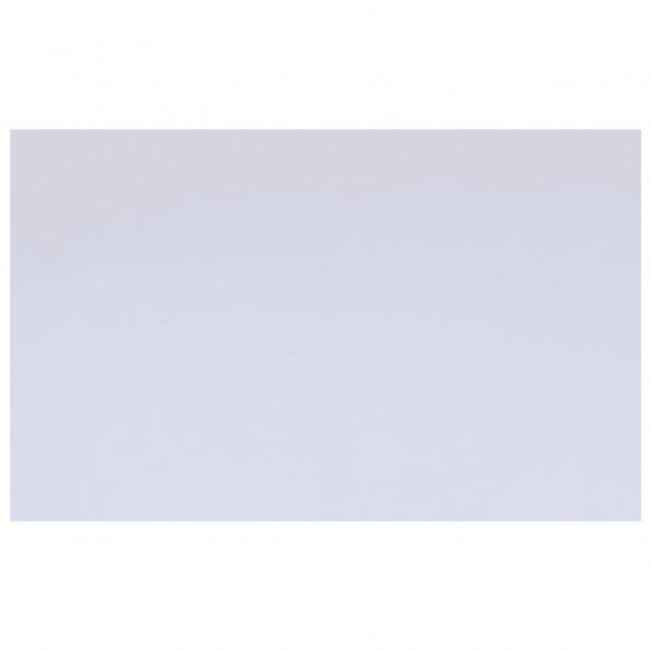 Poolunderlag 490x360 cm geotekstil hvid
