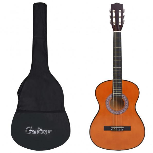 """Klassisk guitarsæt 8 dele til børn og begyndere 3/4 36"""""""