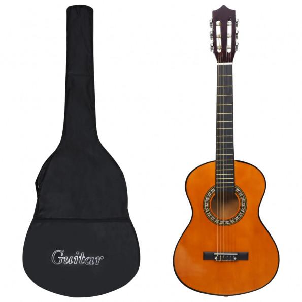 """Klassisk guitarsæt 8 dele til børn og begyndere 1/2 34"""""""