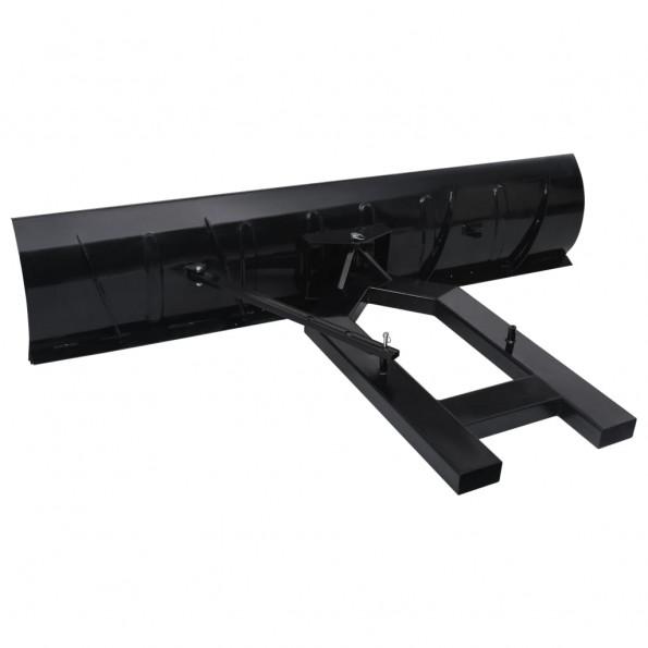 Sneskovl til gaffeltruck 200x48 cm sort