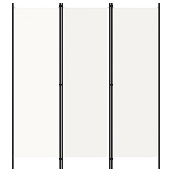3-panels rumdeler 150 x 180 cm hvid