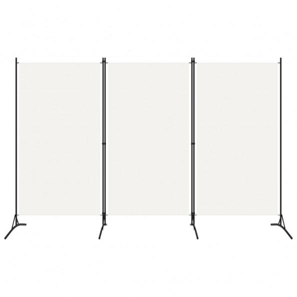 3-panels rumdeler 260 x 180 cm hvid