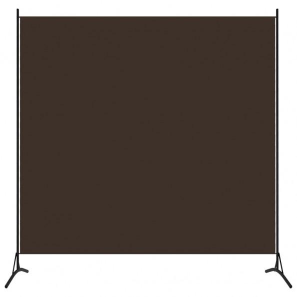 1-panels rumdeler 175x180 cm brun