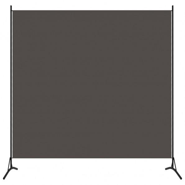 1-panels rumdeler 175x180 cm antracitgrå