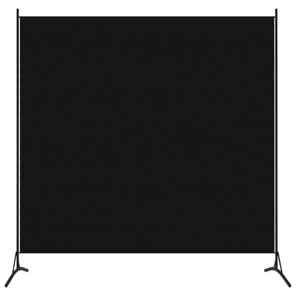 1-panels rumdeler 175x180 cm sort