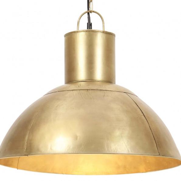 Hængelampe 25 W rund 48 cm E27 messingfarvet