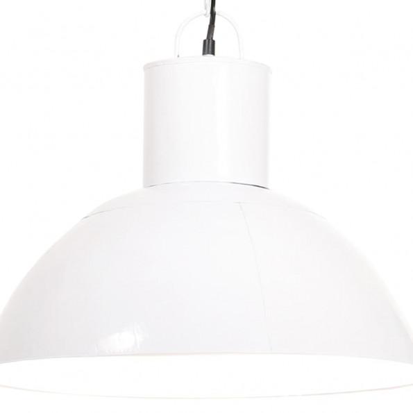 Hængelampe 25 W rund 48 cm E27 hvid