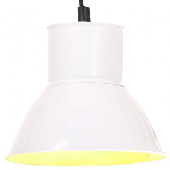 Hængelampe 25 W rund 17 cm E27 hvid