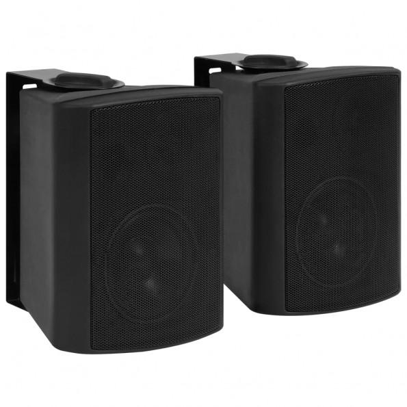 Vægmonterede stereohøjttalere 2 stk. indendørs/udendørs 80 W