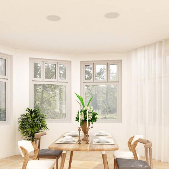 Indbygningshøjttalere til væg og loft 2 stk. 80 W