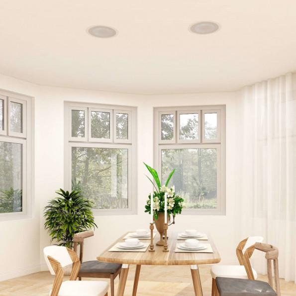 Indbygningshøjttaler til væg og loft med diskant 180 W