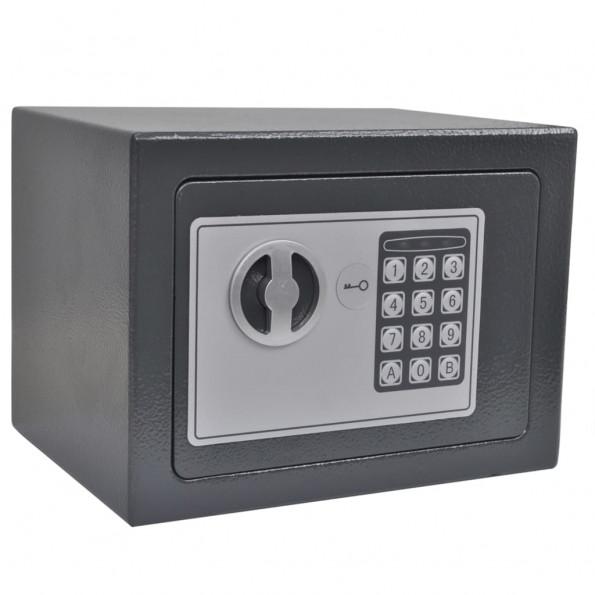 Digitalt sikkerhedsskab 23x17x17 cm