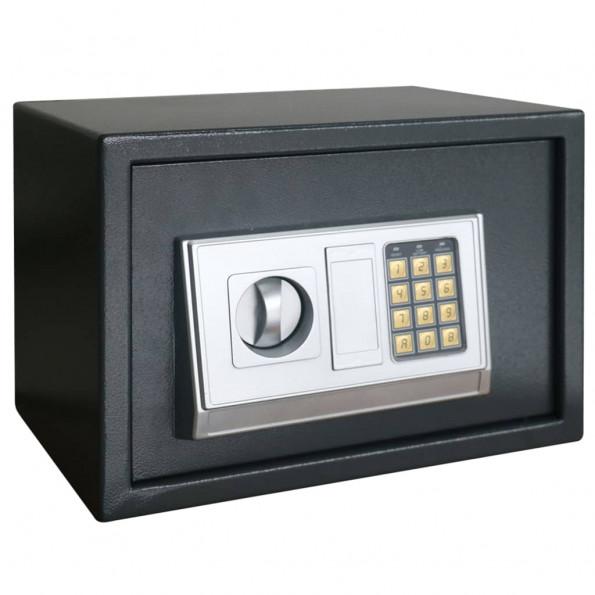 Digitalt sikkerhedsskab med hylde 35x25x25 cm