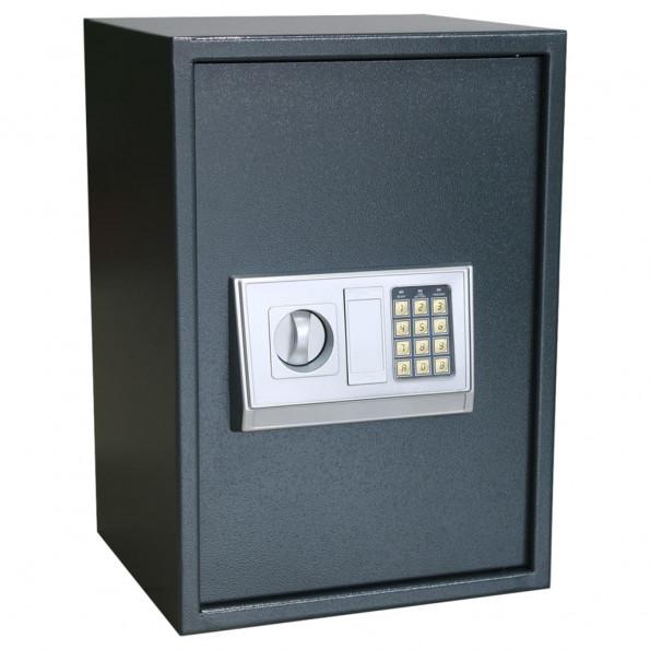 Digitalt sikkerhedsskab med hylde 35x31x50 cm