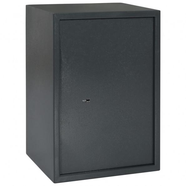 Mekanisk sikkerhedsboks 35x31x50 cm stål mørkegrå