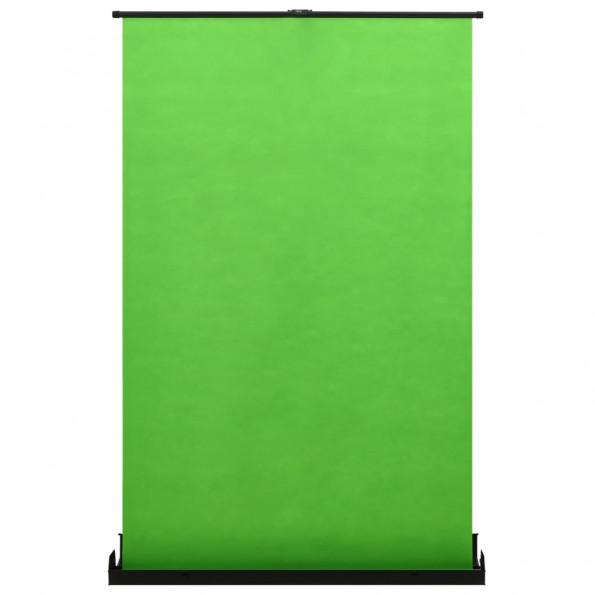"""Fotobaggrund 60"""" 4:3 grøn"""