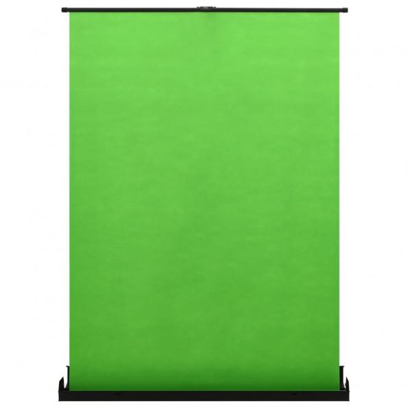 """Fotobaggrund 72"""" 4:3 grøn"""