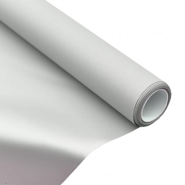 "Projektionsskærmstof metallisk 50"" 4:3 PVC"