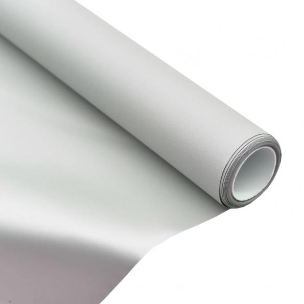 "Projektionsskærmstof metallisk 63"" 1:1 PVC"
