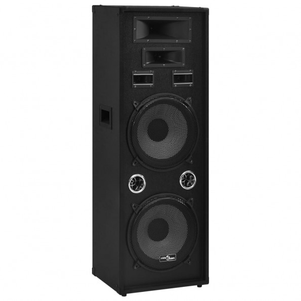 Professionel passiv hi-fi-scenehøjttaler 1000 W sort